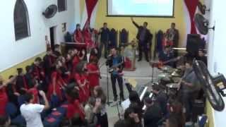 Banda Faces - Perto Quero Estar (sax cover) - Te Louvarei