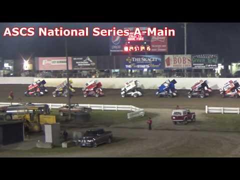 Skagit Speedway, Dirt Cup 2017, Night 2, ASCS National Series A-Main