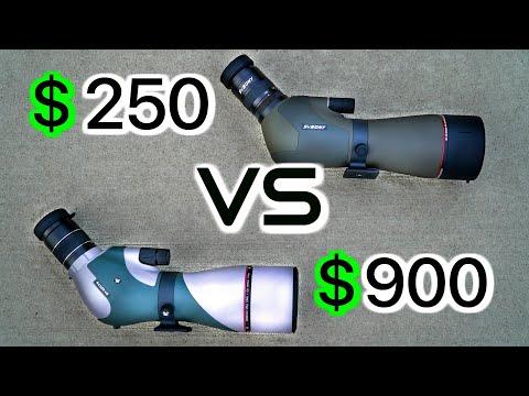 Cheap VS Expensive Spotting Scope Comparision!