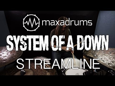 SYSTEM OF A DOWN - STREAMLINE (Drum Cover + Transcription / Sheet Music)