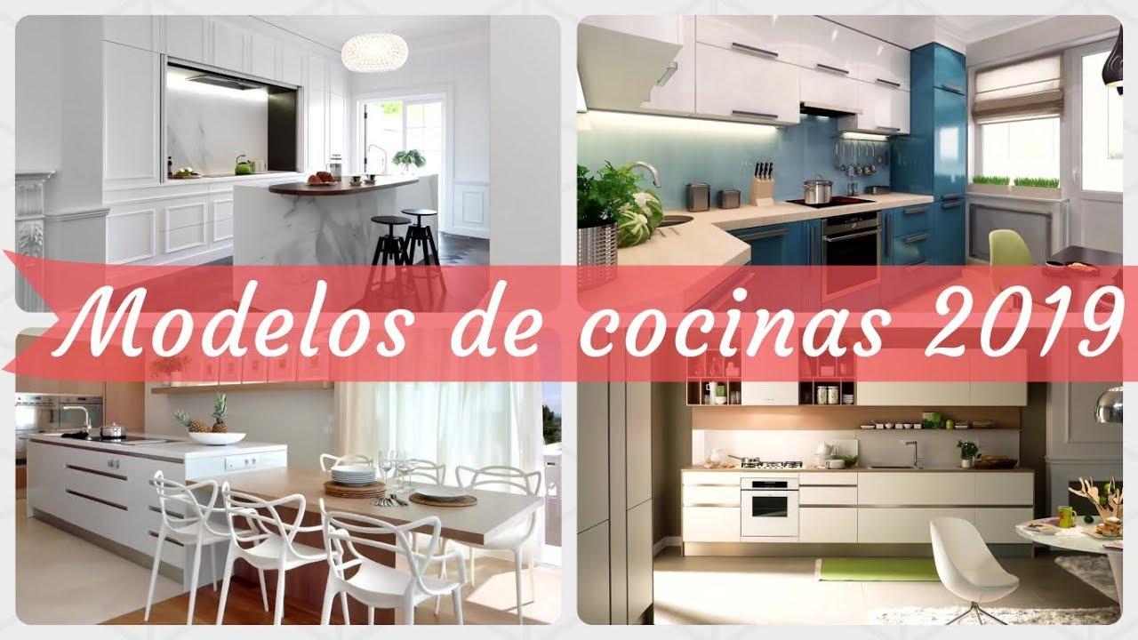 100 modelos de cocinas modernas 2019 youtube. Black Bedroom Furniture Sets. Home Design Ideas