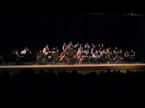 Pennridge North Middle School Jazz Band at Jazz at Pennridge 3/1/18