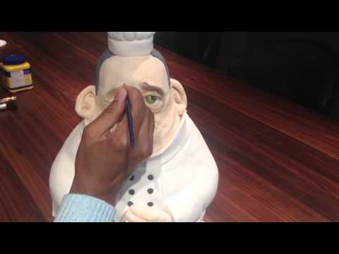 online cake decorating class - Fat Chef Sculpted Cake