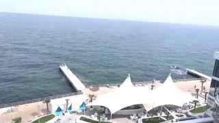 Nemo Hotel 5* Odessa. Cảnh từ tầng 6.