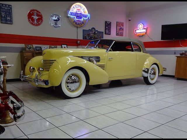 1937 Cord 812 Phaeton Convertible & Supercharged Engine Sound on My Car Story with Lou Costabile