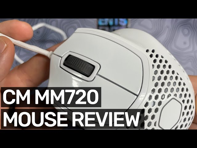 Cooler Master MM720 Review - Crazy comfortable ultra lightweight gaming mouse