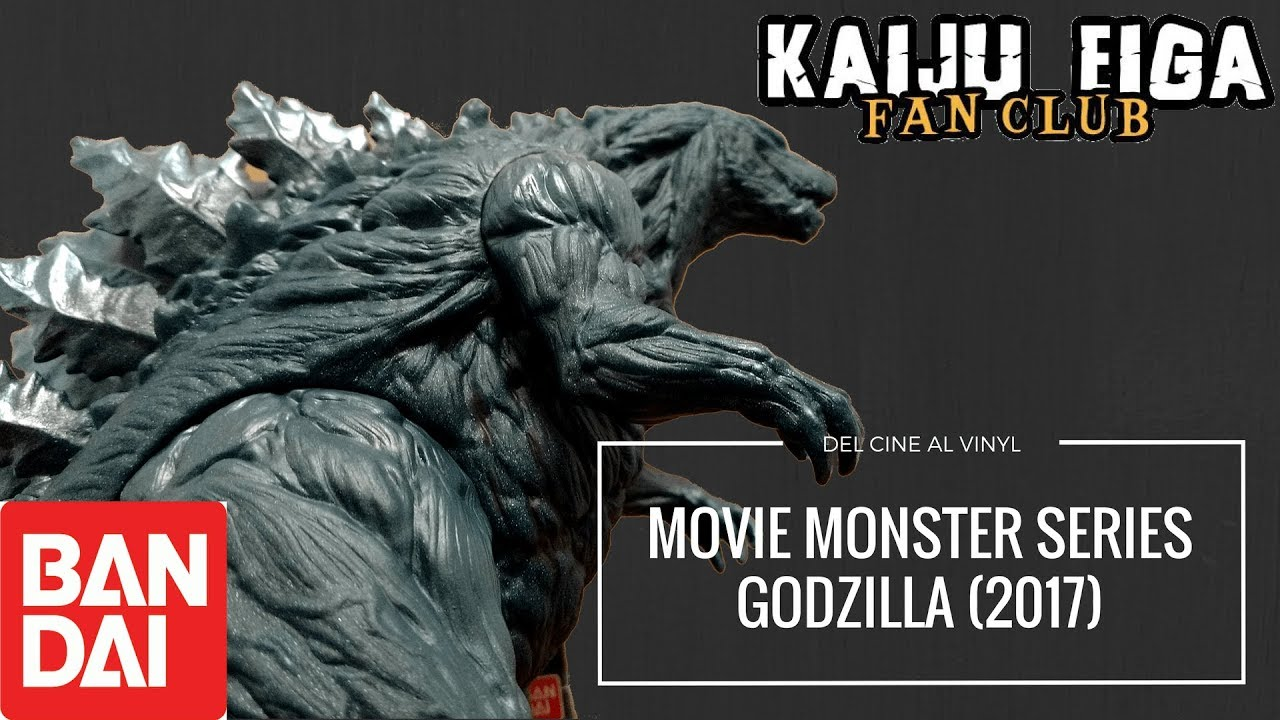 Del cine al vinyl: Movie Monster Series Godzilla (2017 ...
