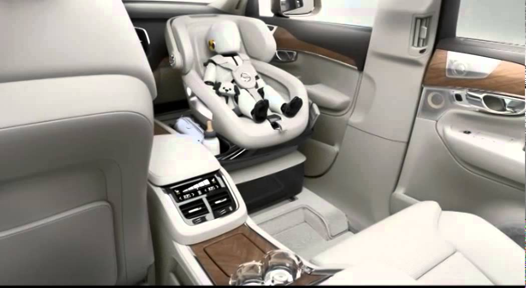 volvo xc90 child safety seat 2016 youtube. Black Bedroom Furniture Sets. Home Design Ideas
