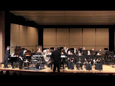 Lake Fenton High School Jazz Band at their Winter Concert