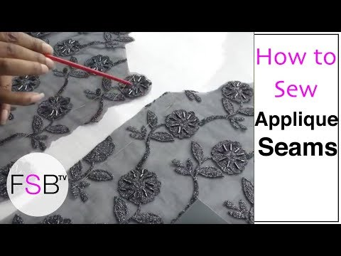 Sewing Lace Seams