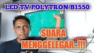 REVIEW LED TV POLYTRON B1550 | LED TV DENGAN SUBWOVER BAWAAN !!!