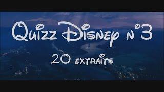 Quizz / Blind Test Disney N°3 - 20 Titres