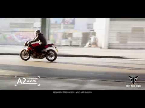 #Triumph A2 - Schon mit A2 Lizenz eine echte Triumph fahren