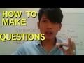 How To Make Questions - Belajar Inggris Pemula | Lesson 1.