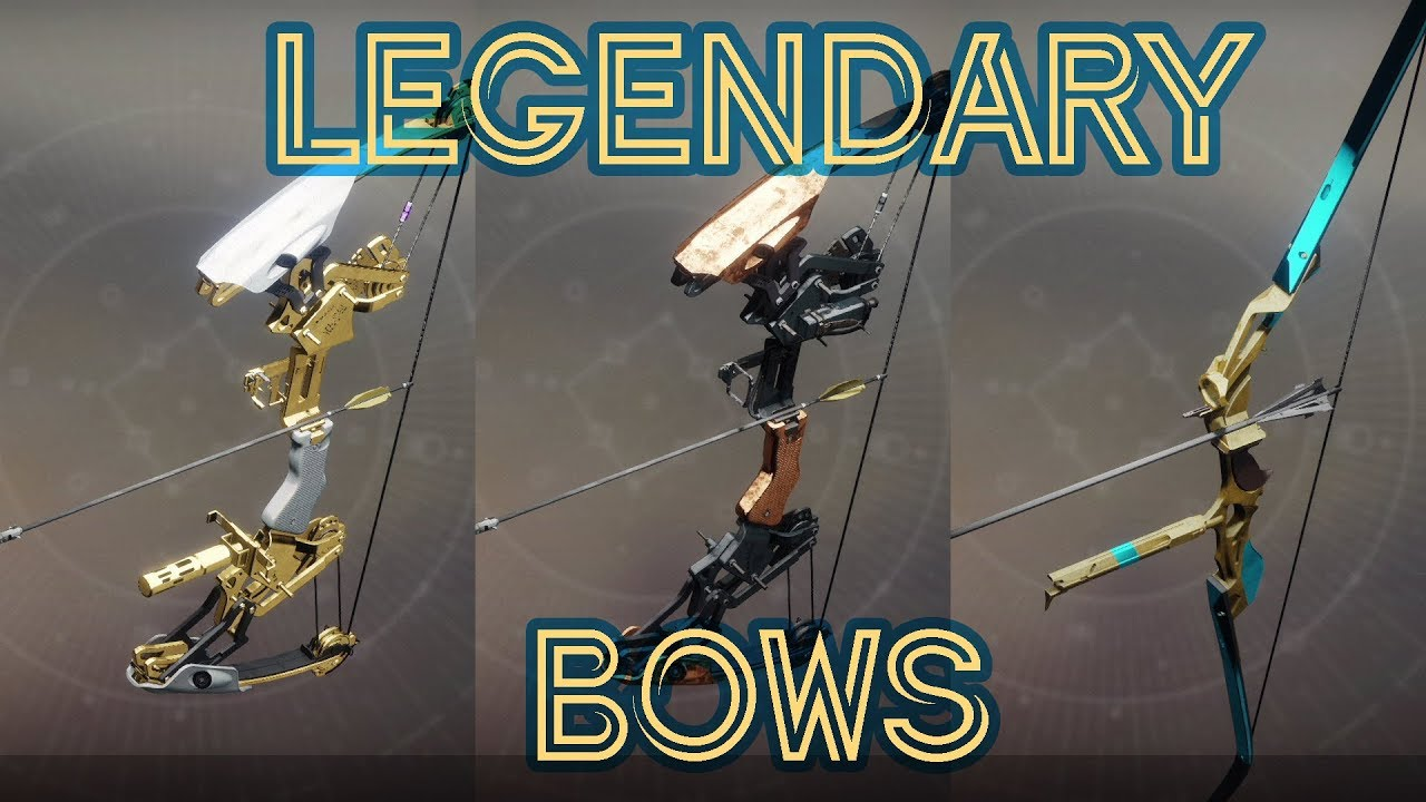 Legendary Bow Review | Destiny 2 gameplay - YouTube