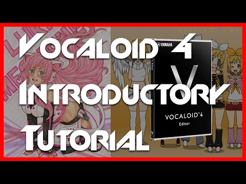Introduction to Making Vocaloid Music for Beginners in Vocaloid4