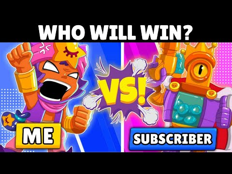 1v1 With Subscriber! | Episode 2 | Brawl Stars.