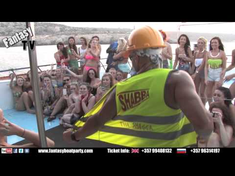 FANTASY BOAT PARTY AYIA NAPA CYPRUS SATURDAY 13TH APRIL 2013 from YouTube · Duration:  6 minutes 30 seconds