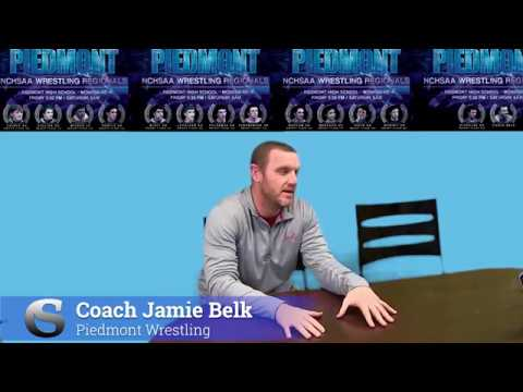 Interview with Coach Jamie Belk Piedmont Wrestling - 2019 Regional Wrestling