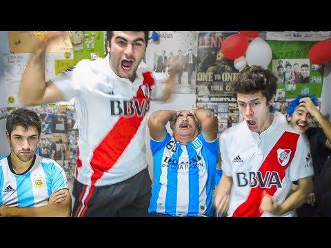 Racing 0 River 2 | Superliga 2018 | Reacciones de Amigos, Padre e Hijo