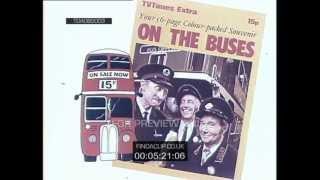 TDADB0003 TV Times On The Buses 56 Page Colour Packed Souvenir Supplement (1970)