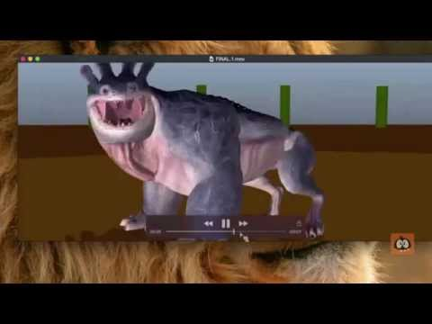 Creature Animation Blocking & Polish Demo with ILM Animator - Peter Kelly