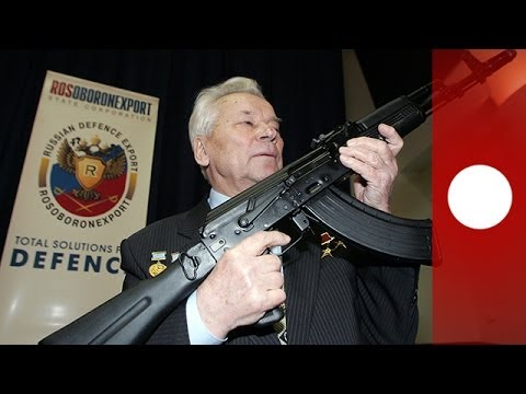 Mikhaïl Kalachnikov, concepteur du fusil d'assaut AK-47, est mort