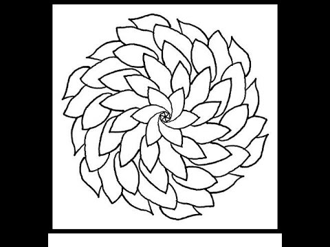 designs and ideas outline pookalam rangoli youtube - Drawing Design Ideas