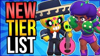 BEST + WORST Brawlers! NEW Overall Tier List for Brawl Stars!