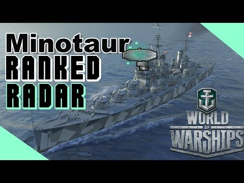 [Panzerknacker] 265K RADAR Minotaur in ranked || World of Warships