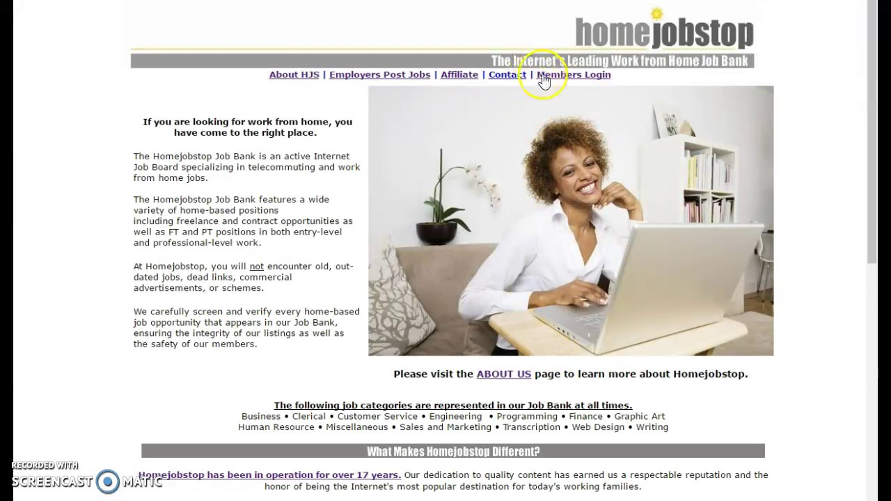 Home-Job-Stop.com Work at Home Positions Customer Service - YouTube