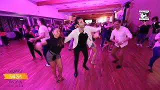 Bircan Tulga & Karel Flores - Salsa Social Dancing @ WARSAW SALSA FESTIVAL 2018