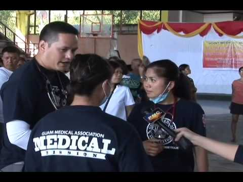 VIDEO: Lone Tacloban Government Doctor Who Worked During Supertyphoon Haiyan on Guam to Give Talks