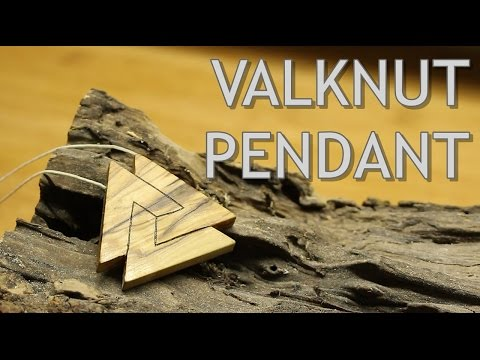 The Valknut Pendant - Making of