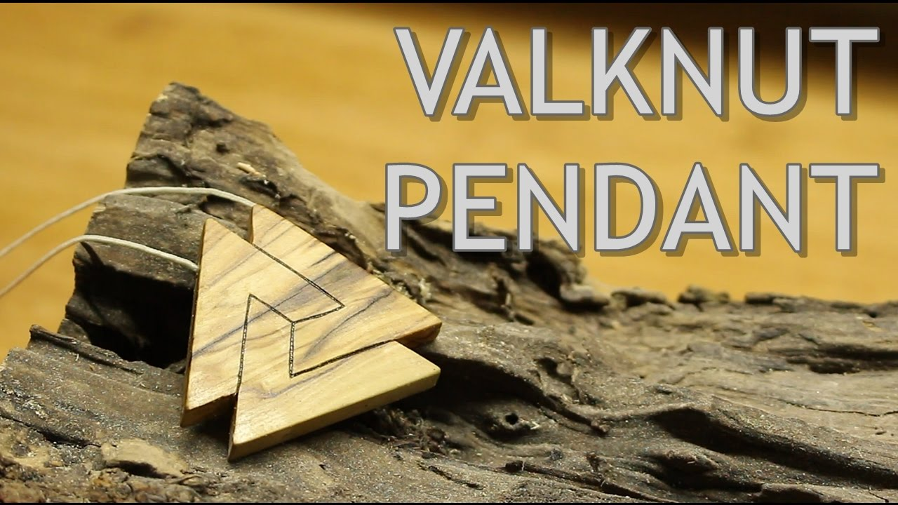 The Valknut Pendant Making Of Youtube