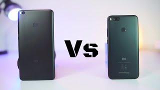 MI Max 2 vs MI A1 Speed Test