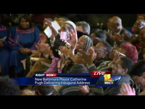 Video: New Baltimore Mayor Catherine Pugh speaks