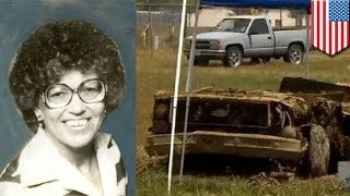 В озере обнаружили тело женщины, пропавшей без вести 35 лет назад(Благодаря рекордно низкому уровню воды в озере Гранбери на поверхность всплыло тело женщины, пропавшей..., 2014-04-27T14:28:54.000Z)