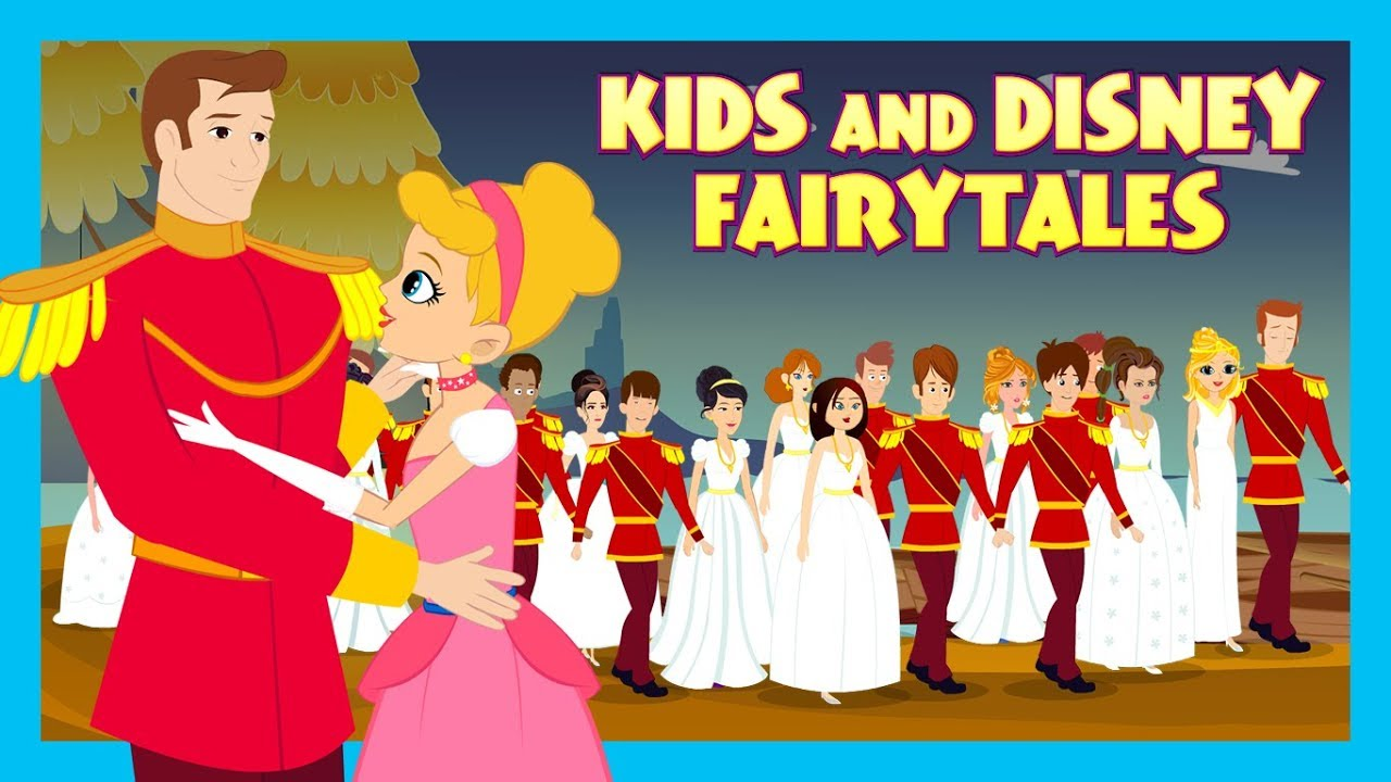 Kids And Disney Fairy Tales || Traditional Animated Stories For Kids || Tia  And Tofu Storytelling
