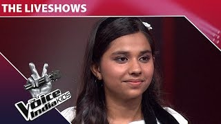 Tannishtha Puri Performs on Ek Ladki Bhigi Bhagi Si | The Voice India Kids | Episode 27