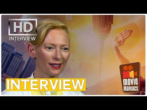 Doctor Strange - Tilda Swinton on eternal youth | exclusive interview (2016)