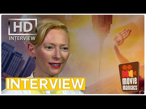 Doctor Strange - Tilda Swinton on eternal youth | exclusive interview (2016)