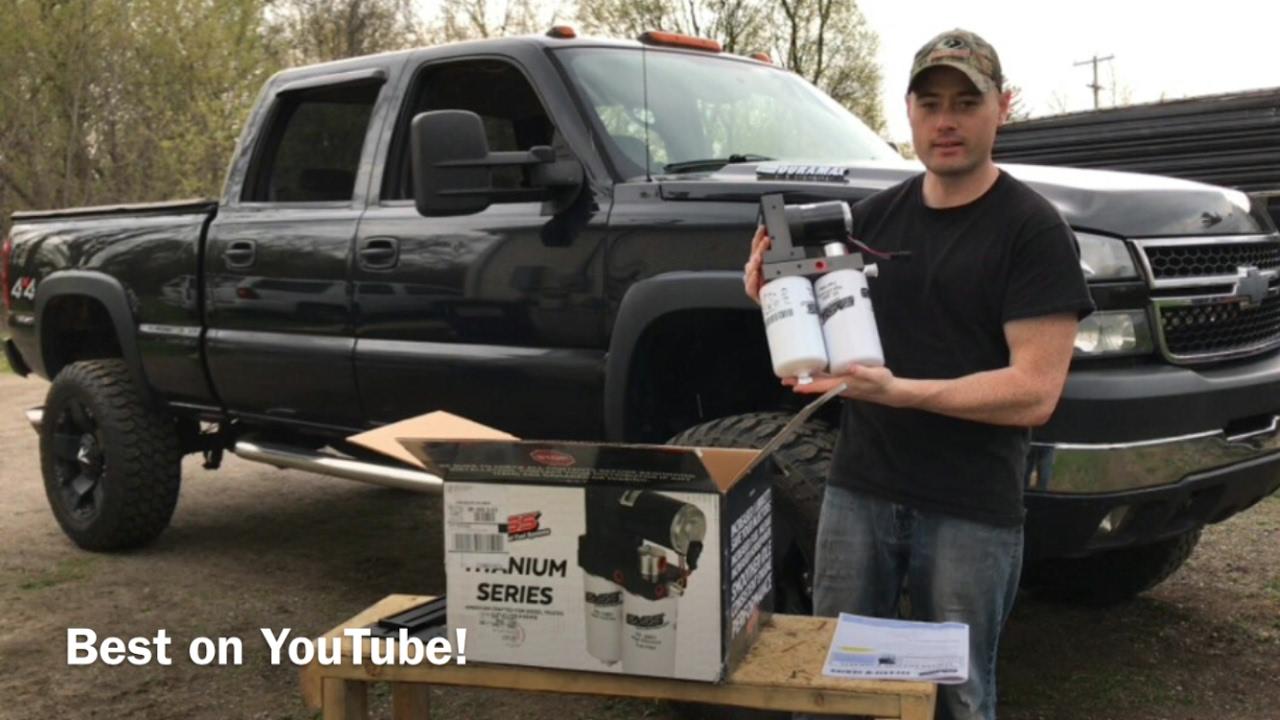 medium resolution of duramax fass lift pump and sump full install
