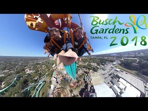 Busch Gardens Vlog, Tampa FL (2018)