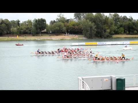 Philippines Dragon Boat Team 6th Gold Milan,Italy 2012