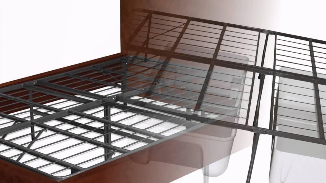 best buy sleep master platform metal bed frame mattress foundation king youtube. Black Bedroom Furniture Sets. Home Design Ideas