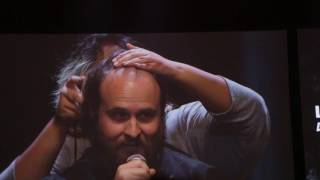 Repeat youtube video Bruce Greene Shaves His Head Let's Play Live NYC