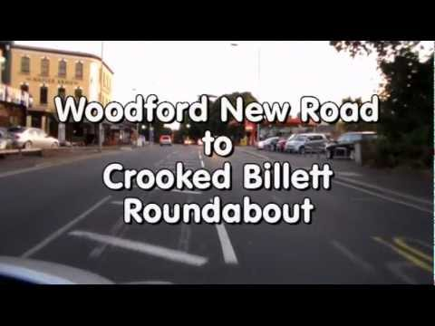 Wanstead Practical Test Routes - Independent Driving, Woodford to Crooked Billet