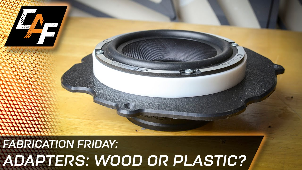 Choose The Right Material For Custom Speaker Adapters