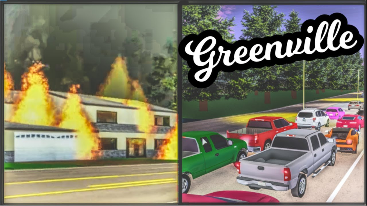 House fires, 50 player traffic jam, and more! | Greenville Roleplay